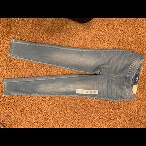 Girls Old Navy light jean leggings